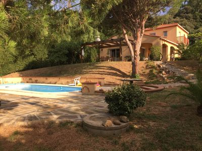 Photo for Modern Hillside Villa With Private Pool, 10 Minute Drive To Mediterranean Coast,