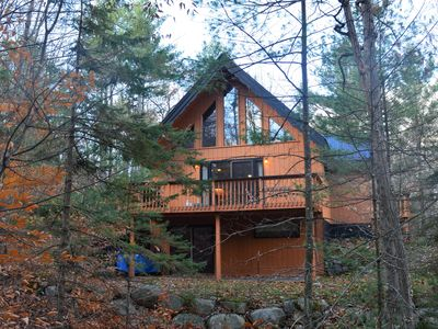 Photo for Beautiful, quiet and well equipped chalet for ski vacation or secluded getaway