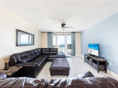 Photo for Towers Grande 402, 2 Bedrooms, WiFi, Beach Front, Sleeps 6
