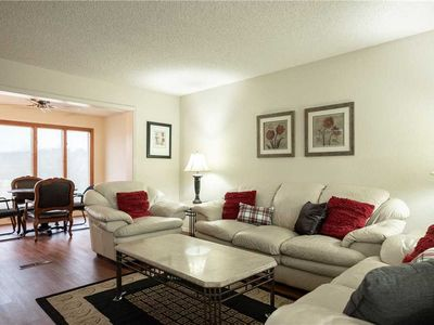 Photo for Huge golf front condo Sleeps 8