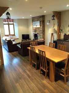 Photo for Character Apartment refurbished to a high standard in Salcombe Town, Sleeps 5.