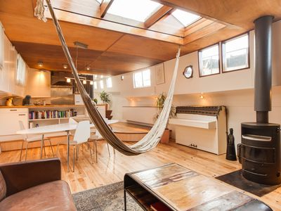 Photo for Charming two bedroom houseboat apartment, that can accommodate two guests, located in the Centre Are