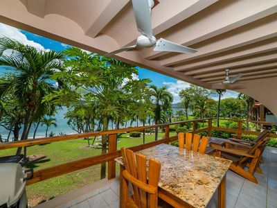 Photo for Beautiful Beachfront condo with secluded beach