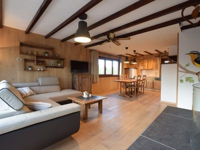Photo for Very welcoming and cosy chalet, a peaceful haven in the countryside