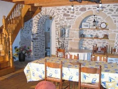 Photo for A beautifully restored, traditional breton cottage on the Emerald Coast