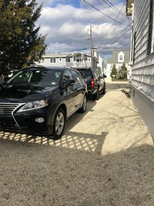 Driveway fits two large SUV's