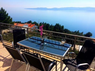 Photo for 3BR Apartment Vacation Rental in Mimice, Dalmatien