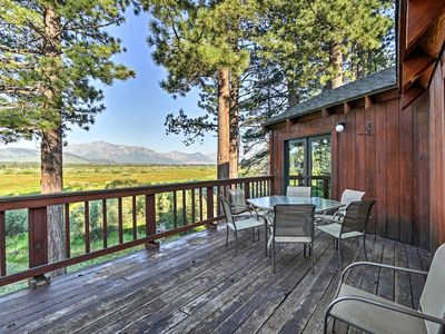 Photo for Cabin on Meadow/Creek - Walk to South Lake Tahoe!
