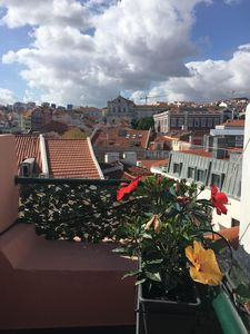 Photo for Lisbon Santa Catarina, Terrace, 2 Bedrooms
