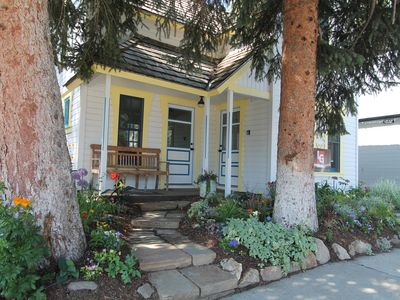 Photo for Historic 4 BR home in Crested Butte. Completely renovated with hot tub! 1 block to free shuttle