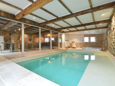 Photo for Stunning and stylish house with indoor pool and jacuzzi, in a wonderful area