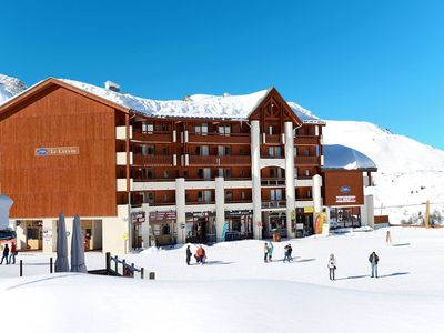 Photo for Smartly furnished apartments in a complex in Plagne Soleil, only 50m. from the slopes