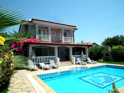 Photo for Villa Aleyna - 3 bedroom private pool and gardens
