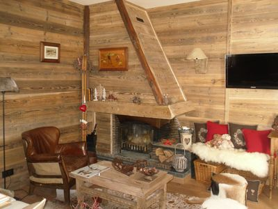 Photo for Large Cozy Apartment, Esprit Chalet in the heart of Font Romeu. WIRELESS.