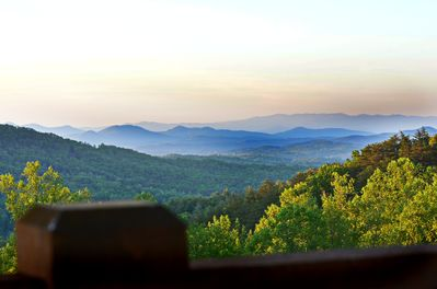 Heaven on Earth! This are the beautiful Blue Ridge Mountains!