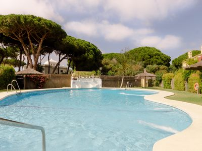 Photo for Villa 100 meters from the beach and swimming pool open all year