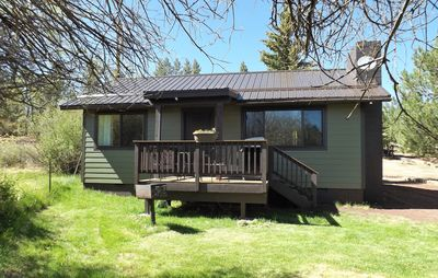 Photo for Meadow View 2 bedroom cabin with pond in the heart of Greer at Antler Ridge