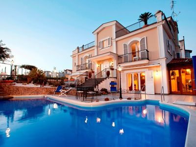 Photo for 6 bedroom Villa, sleeps 14 in Priora with Pool, Air Con and WiFi