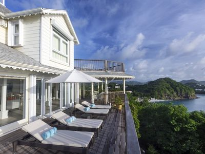 Photo for *Please Enquire For Special Rates* Stunning Two Bedroom Ocean Front Cottage in St Lucia