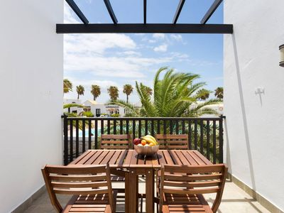 Photo for Letizia Bungalow with pool view