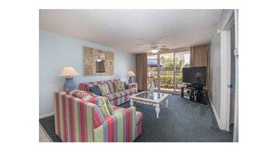 Photo for 2 BR Condo on the Beach - 1st Floor patio access to everything