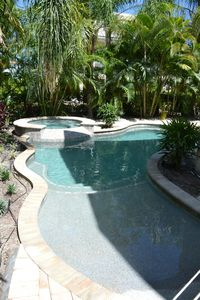 A Pearl of A Beach Home  - with Private luxury heated private pool & spa