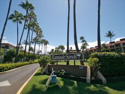 Kamaole Sands Entrance