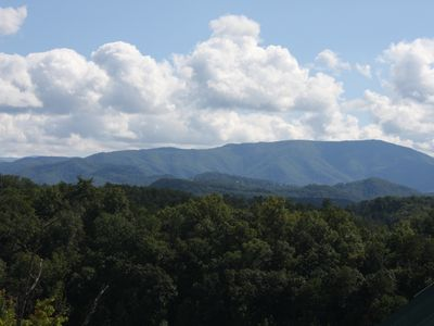 Photo for Stunning Smoky Mountain Views ~ Close to Town with Easy Access by Car!