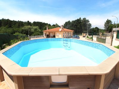 Photo for Large holiday home with private pool (above-ground), near Lloret de Mar
