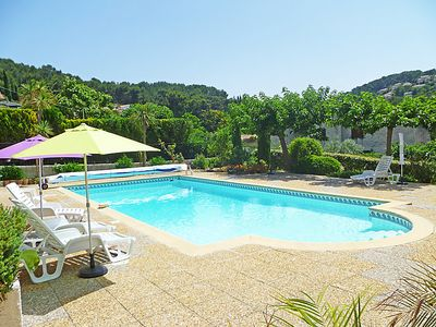 Photo for Les Lecques Apartment, Sleeps 4 with Pool, Air Con and Free WiFi