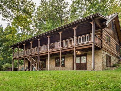 Photo for Oak Ridge Vacation Log Cabin