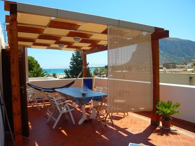 Photo for Beautiful apartment with terrace  - San Vito lo Capo
