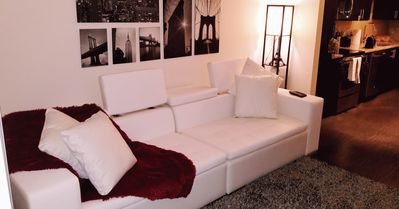 Photo for Discounted Brand New, Luxurious and cozy Apt. In the heart of Atlanta