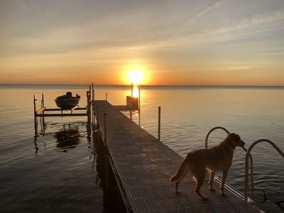 Photo for Updated Home on the Bay! Sleeps 10.  Huge Deck to View Amazing Sunsets!