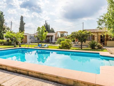 Photo for Can Bleo is a great four bedroom Pollensa villa, sleeping 7 guests, with its own hot-tub & pool