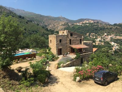 Photo for Property from 18th century in picturesque hamlet Di Parasu - Balagne -Hte Crose