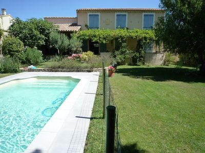 Photo for House with pool in Provencal village near the Isle sur la Sorgue