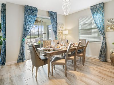 Photo for SPECIAL OFFER! - AMAZING NEW HOUSE with Lake View in Orlando, 5 MIN DISNEY