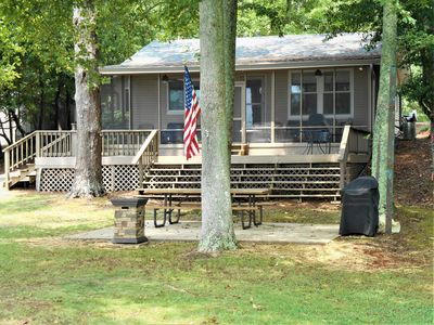 Photo for I'm Hooked ~ Main Channel Waterfront ~ Screened Porch ~ Boathouse ~ WIFI ~ Pets!