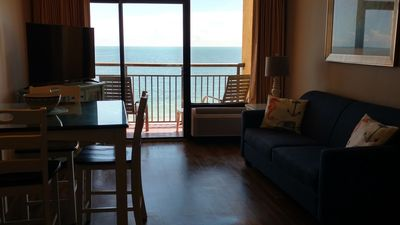 Photo for Amazing Views! Direct Oceanfront 1bd Completely Renovated Condo @ Caravelle