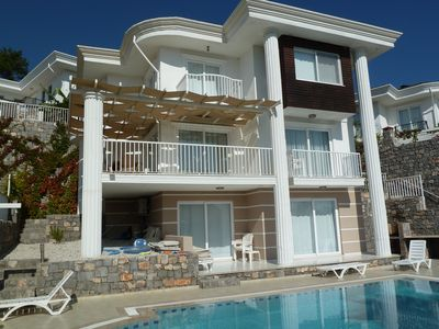 Photo for Large 5 bedroom Villa in Elevated Position with Own Pool And Close To The Sea