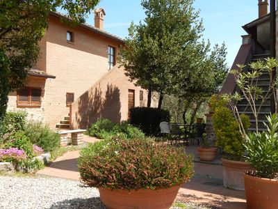 Photo for Two rooms in the farmhouse near Siena