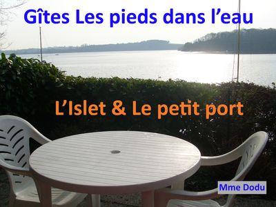 Photo for Gites Vue Mer, L'islet Maisonnette 4 Pers. Direct access to beach