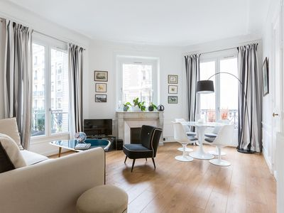 Photo for Rue Cardinet III - luxury 1 bedrooms serviced apartment - Travel Keys