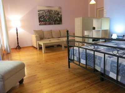 Photo for Spacious central apartment near Y.M.C.A. 78m2