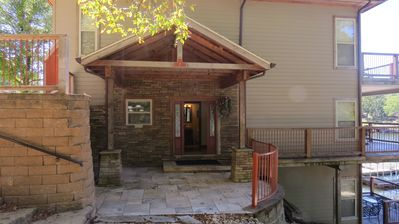 Photo for Fantastic 3 Level 3 Bedroom Lakefront House with Private Dock