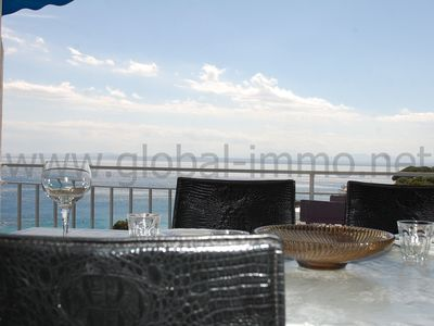 Photo for Large apartment with large windows and fantastic sea view.