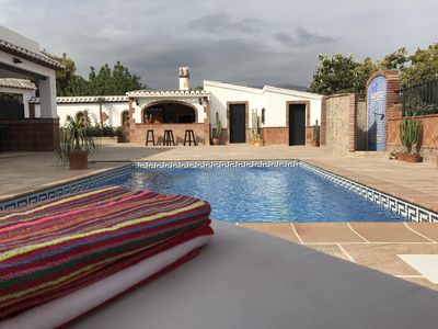 Photo for Villa RuiSol - Rustic and modern design. 5 min from Nerja and beach.