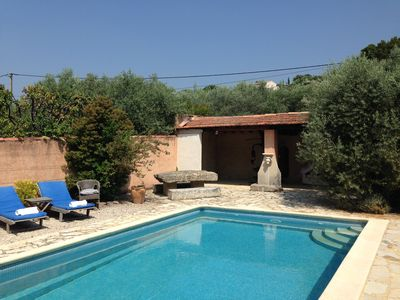 Photo for The Olive Garden - A stunning location, close to village, with pool