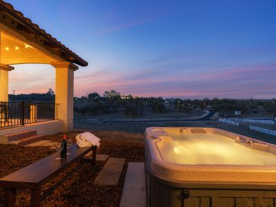 Photo for Sunsets from the Spa | Beautiful Ranch Style Home | Sleeps 12! ❤ by AvantStay